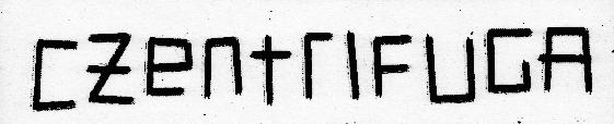 Czentrifuga logo